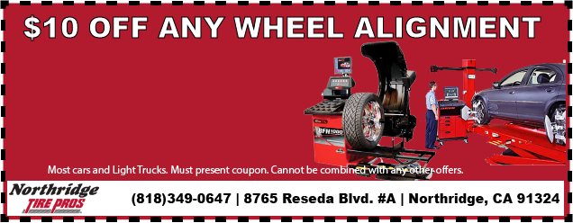 $10 OFF Any Wheel Alignment!
